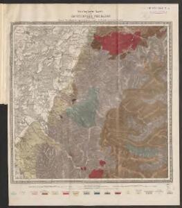 Geologische Karte der Umgebungen von Baden
