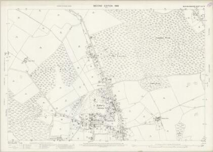 Buckinghamshire XLII.15 (includes: Chepping Wycombe; Penn) - 25 Inch Map