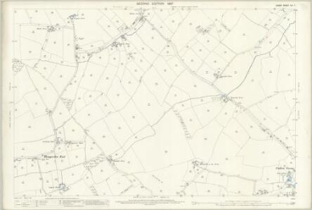 Essex (1st Ed/Rev 1862-96) XIV.7 (includes: Broxted; Debden; Thaxted) - 25 Inch Map