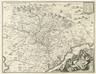 Nova & Exacta Chorographia Latii Sive Territorii Romani
