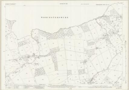 Herefordshire XIII.11 & 7 (includes: Bockleton; Hampton Charles; Hatfield; Kyre; Pudlestone; Thornbury) - 25 Inch Map