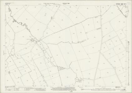 Berkshire XVIII.3 (includes: Ashbury; Bishopstone; Bourton) - 25 Inch Map