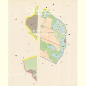 Plesche - c5827-1-003 - Kaiserpflichtexemplar der Landkarten des stabilen Katasters