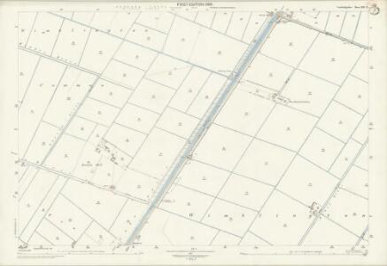 Cambridgeshire XXI.2 (includes: Chatteris; Wimblington) - 25 Inch Map