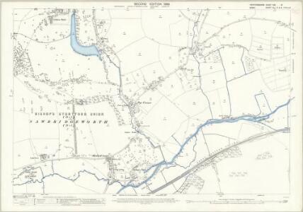 Hertfordshire XXX.16 (includes: Eastwick; Gilston; High Wych; Netteswell; Sawbridgeworth) - 25 Inch Map