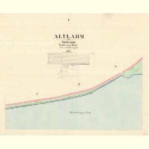 Altlahm - c7237-1-001 - Kaiserpflichtexemplar der Landkarten des stabilen Katasters
