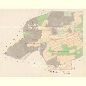 Gramatin - c7301-1-002 - Kaiserpflichtexemplar der Landkarten des stabilen Katasters