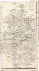 Neueste Karte des heiligen Kreuzberges und seiner Umgebungen, mit den Rhoengebirgen und angrenzenden Orten