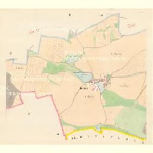 Teinitz - c8145-1-002 - Kaiserpflichtexemplar der Landkarten des stabilen Katasters