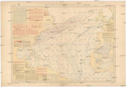 Pilot chart of the North Atlantic Ocean