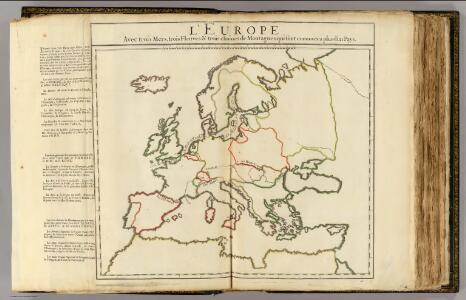 L'Europe mers, fleuves, montagnes.