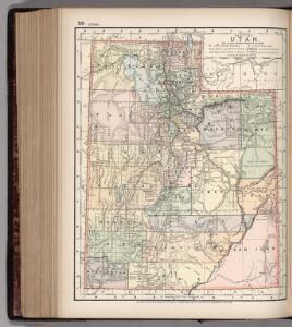 Map of Utah. 99