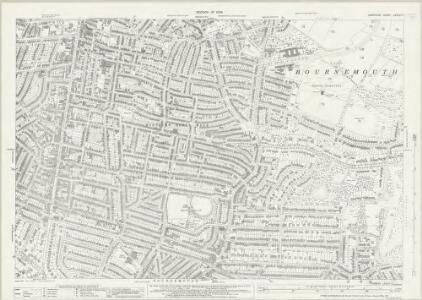 Hampshire and Isle of Wight LXXXVI.5 (includes: Bournemouth) - 25 Inch Map