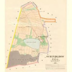 Schindlhöf - c7730-1-001 - Kaiserpflichtexemplar der Landkarten des stabilen Katasters