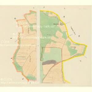 Lhotta untern Gebirg - c3936-1-002 - Kaiserpflichtexemplar der Landkarten des stabilen Katasters