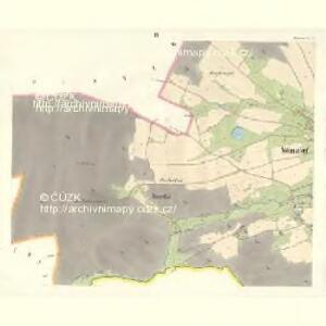 Wölmsdorf - c8581-2-003 - Kaiserpflichtexemplar der Landkarten des stabilen Katasters