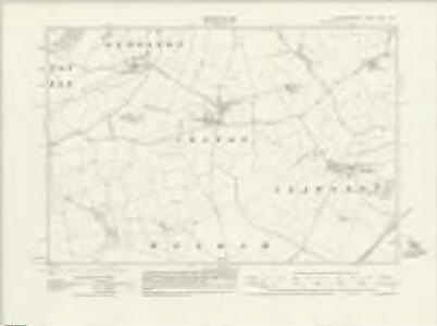 Leicestershire XLVI.NW - OS Six-Inch Map
