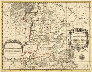 Le Limbourg ou sont Le Duché de Limbourg Le Comté de Dalem, Les Seigneuries de Fauquemont et de Rolduc