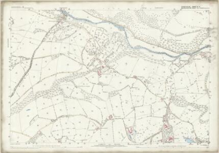 Shropshire V.13 (includes: Chirk; Glyntraean; Weston Rhyn) - 25 Inch Map