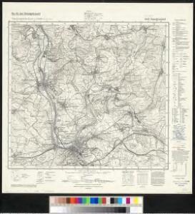 Meßtischblatt 6808 : Saargemünd, 1940