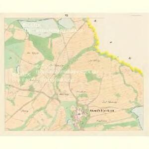 Gross Czekau - c0785-1-005 - Kaiserpflichtexemplar der Landkarten des stabilen Katasters