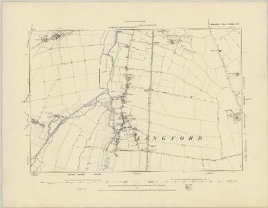 Bedfordshire XXIII.SW - OS Six-Inch Map