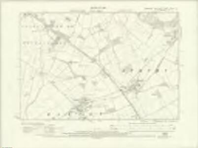 Yorkshire CXCIII.NE - OS Six-Inch Map