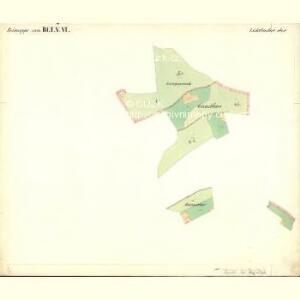 Lichtbuchet Ober - c2161-1-001 - Kaiserpflichtexemplar der Landkarten des stabilen Katasters