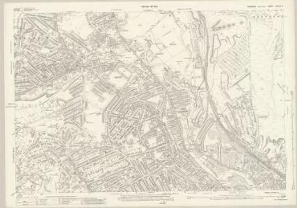 Yorkshire CCXCIV.3 (includes: Sheffield) - 25 Inch Map