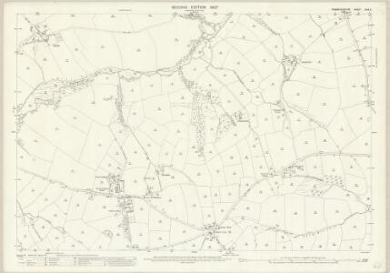 Pembrokeshire XXIX.2 (includes: Llawhaden; Narberth North; Robeston Wathen; Velfrey) - 25 Inch Map