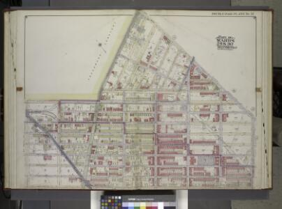 Brooklyn, Vol. 2, Double Page Plate No. 12; Part of Wards 29 & 30, Section 16 & 17; [Map bounded by West St., 16th Ave., 45th St., 9th Ave.; Including 37th St., Forthamilton Ave.] / by and under the direction of Hugo Ullitz.