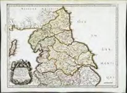 Ancien royau.me de Northumberland, aujourdhuy provinces de Nort