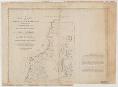 A topographical map of the Province of New Hampshire : Northern sheet