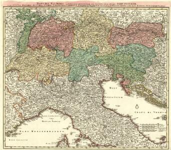 Danubii Fluminis [à fontibus prope Doneschingam usq; Posonium urbem designati] Pars Superior