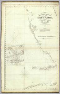 The Bahama Banks and Gulf of Florida (West sheet)