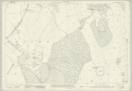 Gloucestershire XX.4 (includes: Stanway; Temple Guiting) - 25 Inch Map