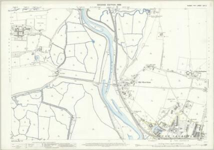 Sussex LXV.5 (includes: Coombes; Lancing; Old Shoreham; Shoreham By Sea) - 25 Inch Map