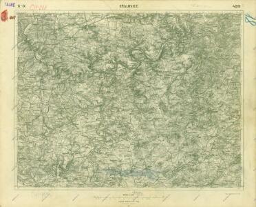 III. vojenské mapování 4051