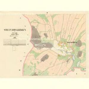 Steinmolliken - c3023-1-002 - Kaiserpflichtexemplar der Landkarten des stabilen Katasters