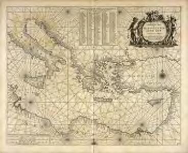 Pas kaert van 't oostelycke deel der Middelandsche Zee
