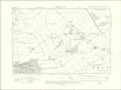 Yorkshire CXCIII.SE - OS Six-Inch Map