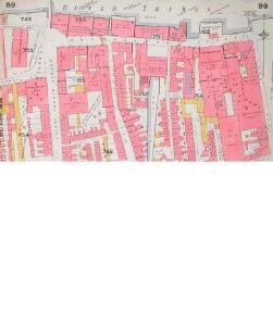 Insurance Plan of City of London Vol. IV: sheet 89-1