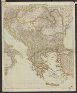 Freytag & Berndt's Handkarte von Sudost-Europa