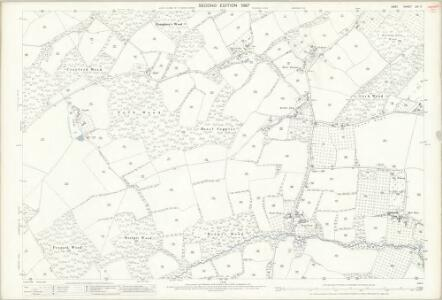Kent LXI.11 (includes: Brenchley) - 25 Inch Map