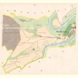 Goldenkron - c9272-1-002 - Kaiserpflichtexemplar der Landkarten des stabilen Katasters