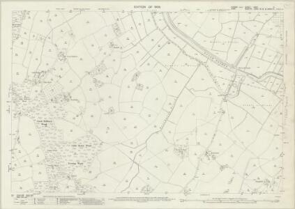 Sussex XXXII.9 (includes: Beckley; Peasmarsh; Wittersham) - 25 Inch Map