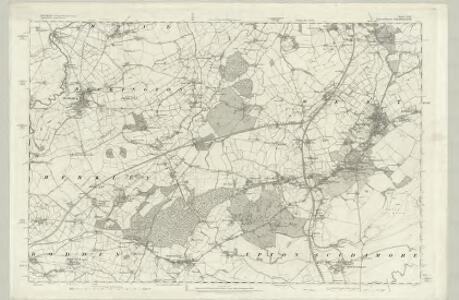 Wiltshire XXXVIII - OS Six-Inch Map