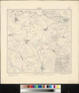 Meßtischblatt 1491 : Granow, 1892