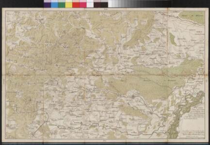 Carte über den groesten Theil des untern Elsasses, nebst der Grenze von Teutschland und Lotharingen. &c.