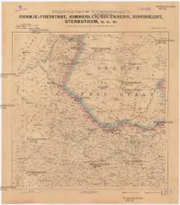 Oranje-Freistaat, Kimberley, Colesberg, Dordrecht, Sterkstrom, u. s. w